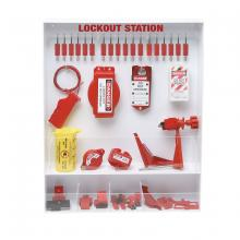 1 Station Brady LC209G Prinzing Lockout Station eqpd 19x24